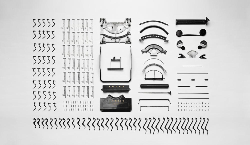 Typewriter Apart - Eleven Alphabet