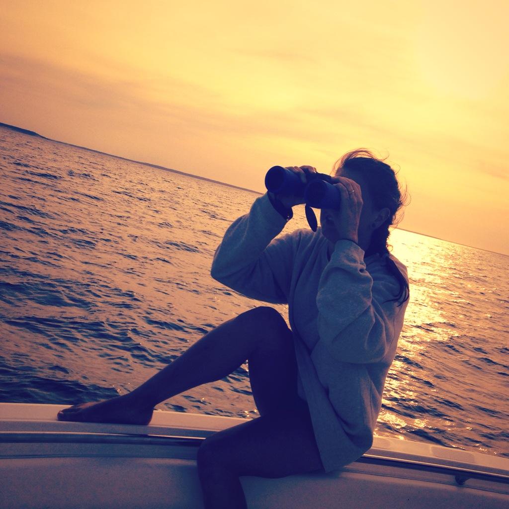 Sunset Fish Hunt Amagansett