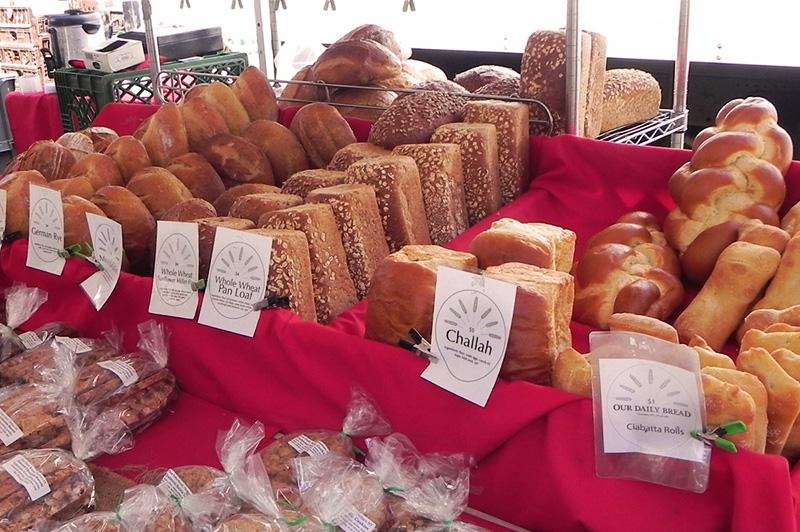 rhinebeck farmers market bread
