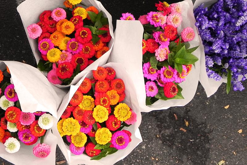 rhinebeck farmers market flowers