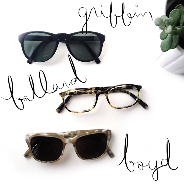 warby parker sunglasses eyeglasses griffin ballard boyd